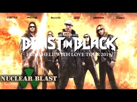 BEAST IN BLACK - 'From Hell With Love' Tour 2019 (OFFICIAL TOUR TRAILER)
