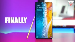 Samsung Galaxy Note 10 - IT'S MAKING A RETURN