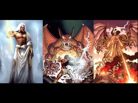 Mitología Griega: Tifonomaquia, Tifon, El Padre de los Moustros Vs ...