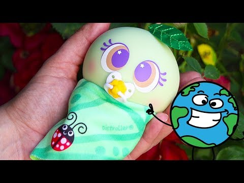 Baby Doll Play With Pisti-lo Nature Loving Nerlie ! Toys and Dolls Fun Pretend Play for Kids