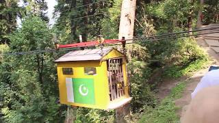 Chairlift ride from Kel to Arang |  Neelam Valley | Azad Kashmir