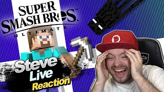 🔴 STEVE von MINECRAFT?! SUPER SMASH BROS. ULTIMATE DIRECT 01.10.2020 🎇 Domtendos Live Reaktion