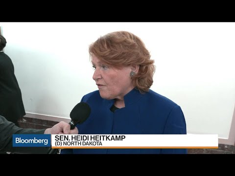 Sen. Heitkamp on Ex-Im Bank, No Vote on Tax Plan
