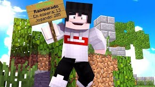 MINECRAFT - SKYWARS - JOGANDO NO MODO RANKED NO SKYMINIGAMES!! #04