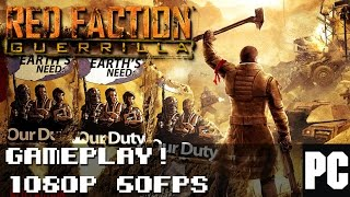 Red Faction: Guerrilla Steam Edition Gameplay | 60FPS