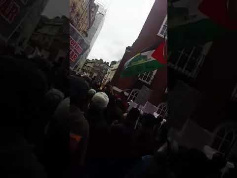 Protest Outside Burma Embassy In London