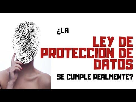 ¿La LEY DE PROTECCIÓN DE DATOS se cumple realmente?