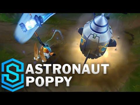 Astronaut Poppy Skin Spotlight - Pre-Release - League of Legends