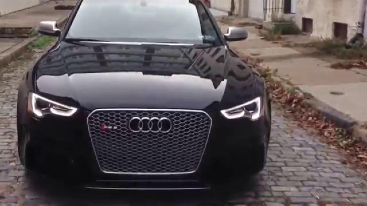 Audi Vs BMW >> Audi RS5 Black 450 hp - YouTube