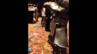 Goldy as Alphonse dancing at Anime Matsuri 10!