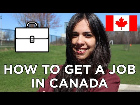 How To Find A Job In Canada