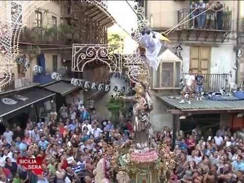 Sicilia Sera Filippo CUCINA intervista il Priore dei Padri Carmelitani 02/08/2014
