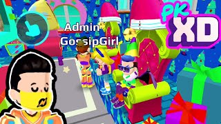 MEET ADMIN AND GOSSIP GIRL FANS AND ARMOR PARTY HOUSE