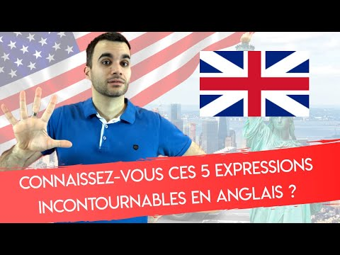 connaissez vous ces 5 expressions incontournables en anglais youtube. Black Bedroom Furniture Sets. Home Design Ideas