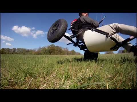 ' GoPro Crash Test ' kite buggy jump