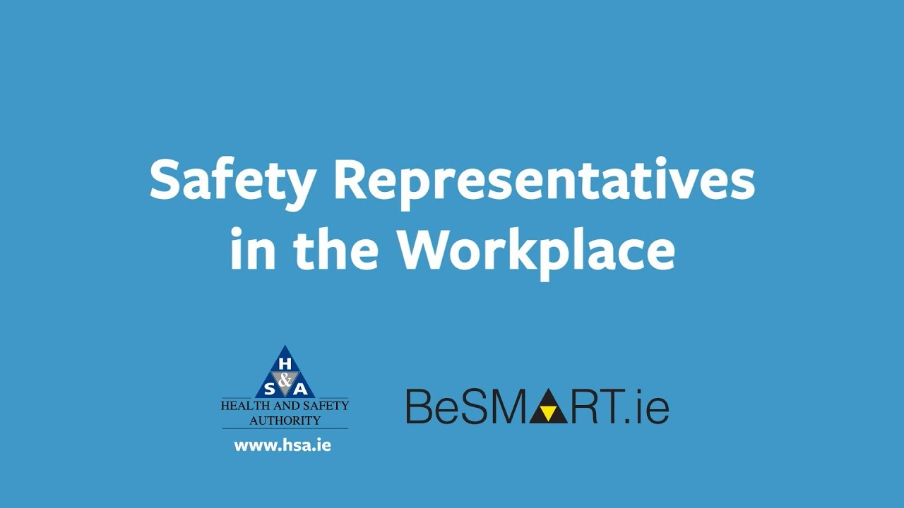 Learn More - Safety Representative - BeSMART ie - Free Safety
