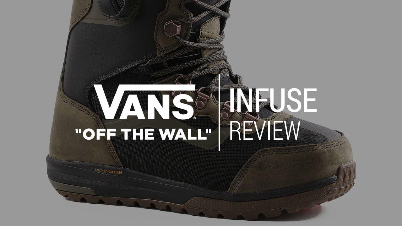 6b39aa5b369b Vans Infuse 2018 Snowboard Boot Review - Tactics.com - YouTube