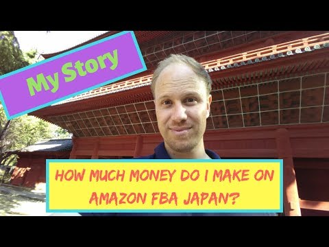 Why I started selling on Amazon Japan FBA  & How much money I make from it