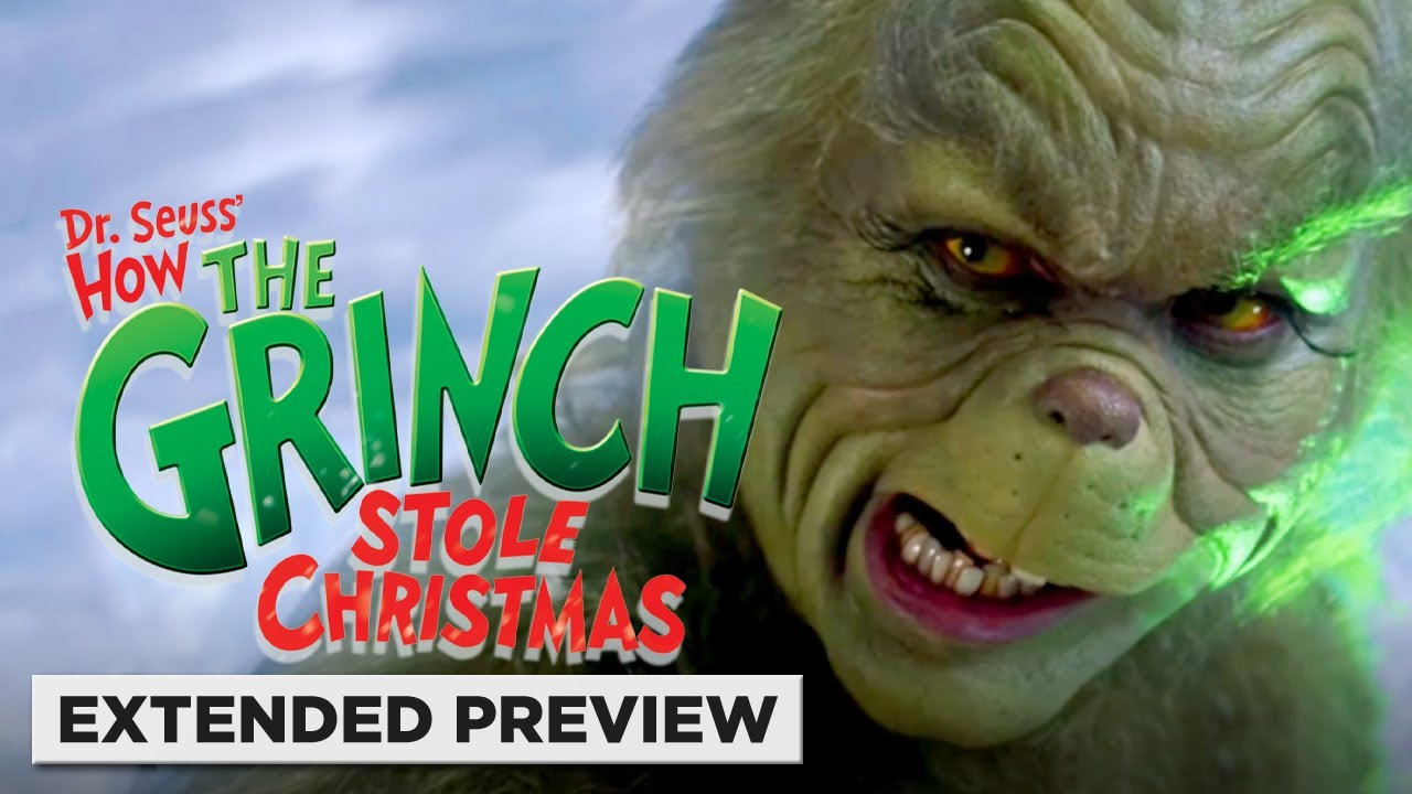 Download How the Grinch Stole Christmas (20th Anniversary) | Jim Carrey Has a Heart Two Sizes Too Small