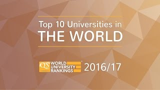 Top 10 Universities - Top 10 Universities in the World 2016/17