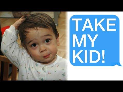 r/Entitledparents 'Stranger, Take My Child!'