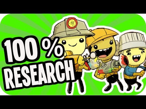 100% RESEARCH!!! ▶NEW SEASON◀ Oxygen Not Included OCCUPATIONAL UPGRADE S02E02 ONI JOBS UPDATE