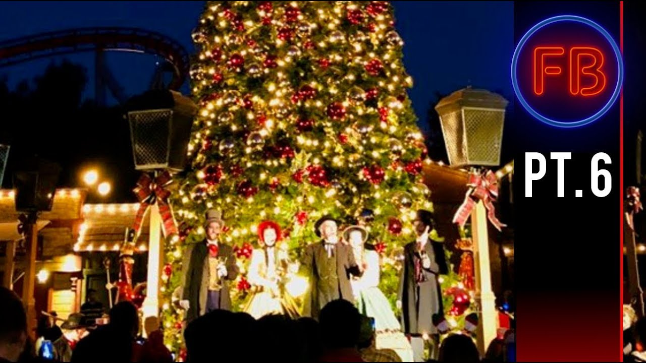 best christmas tree lighting ceremony ever is at knotts berry farm 12 16 17 pt 6