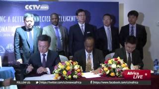 CCTV : Chinese Companies ink Deal For Intelligent Power Supply