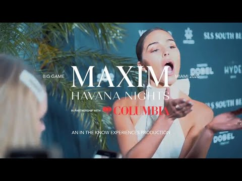 Maxim Havana Nights Big Game Party