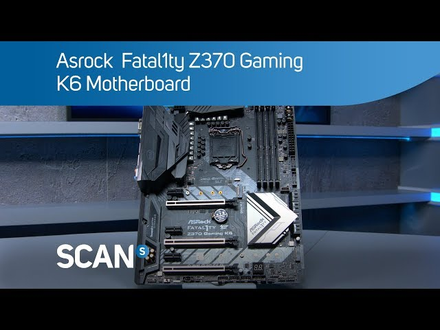 Asrock  Fatal1ty Z370 Gaming K6 Coffee Lake  motherboard - Overview