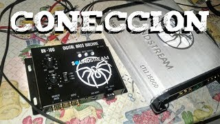 Conexión de un Epicentro o Restaurador de Bajos al Amplificador
