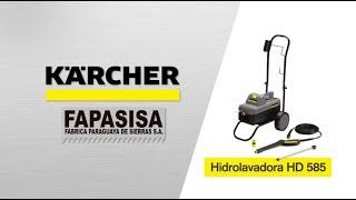 Hidrolavadora Industrial HD 585 - Kärcher FAPASISA Paraguay