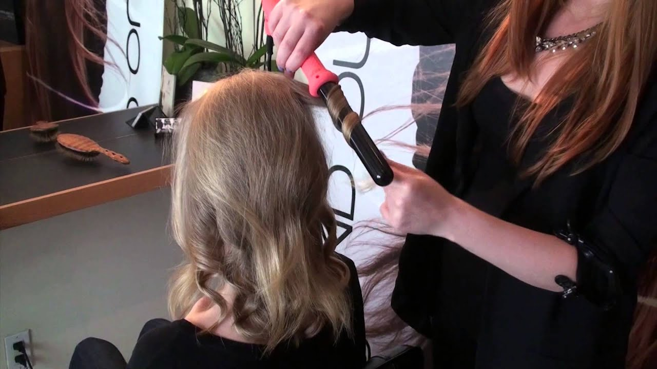 Beach Waves Hair Tutorial With Curling Iron Youtube