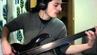 Death - Lack Of Comprehension (Fretless Bass Cover)