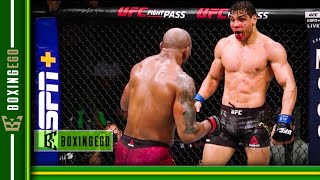 YOEL ROMERO VS PAULO COSTA FIGHT TO UD IN CLASSIC | FIGHT OF THE NIGHT WORTHY (EGO REVIEW)