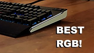 Corsair STRAFE RGB Mechanical Keyboard w/ Cherry MX Brown Switches REVIEW