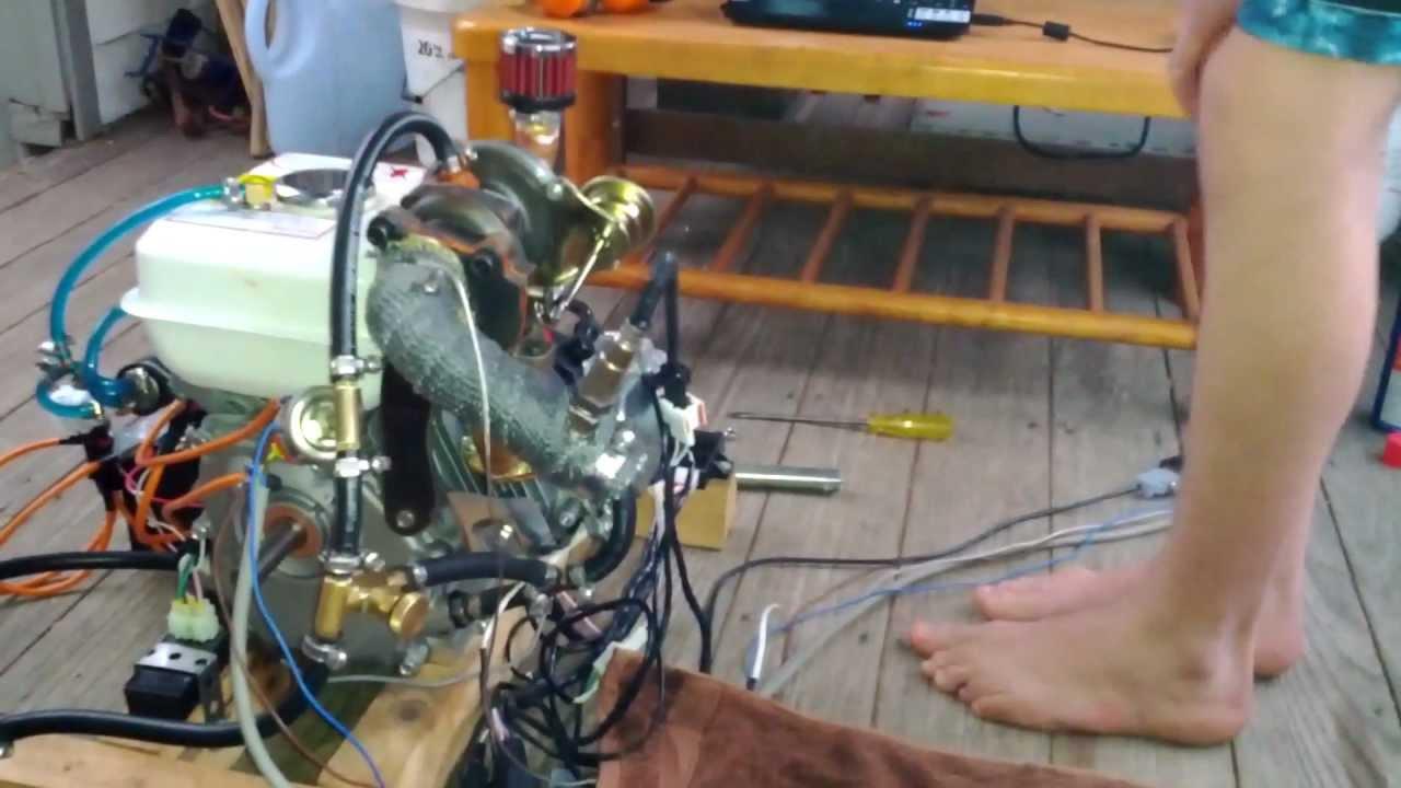 Ecotrons EFI - 5 5HP Turbocharged EFI Engine