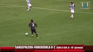 Serie D Girone D V.A.Sansepolcro-Fiorenzuola 0-2