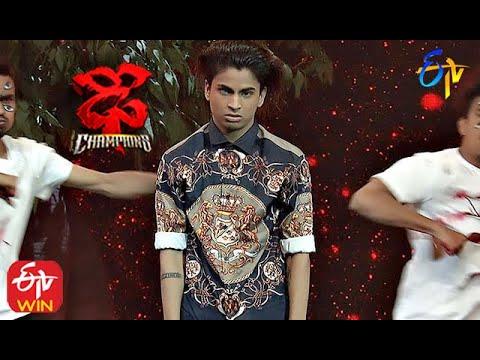 Piyush Performance | Dhee Champions | 23rd September 2020  | ETV Telugu