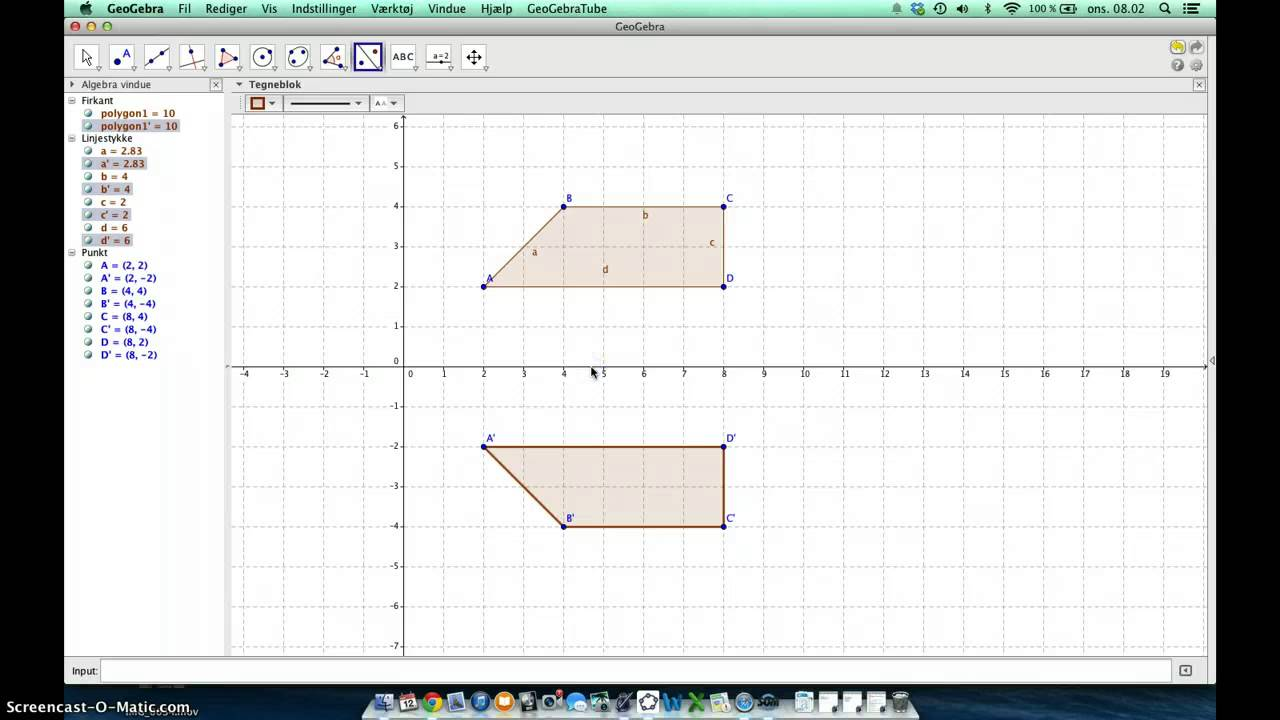 Geogebra 5. klasse