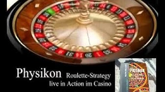 Physikon Roulette Roulettesystem live in Action im Casino Roulette SelMcKenzie Selzer-McKenzie