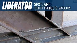 Trinity Products fabricates steel bridges with the Ocean Liberator CNC Beam Coping Machine