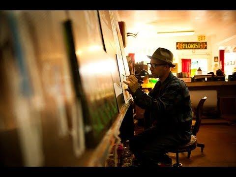 SIGNWRITER- Derek McDonald Of Golden West Sign Arts