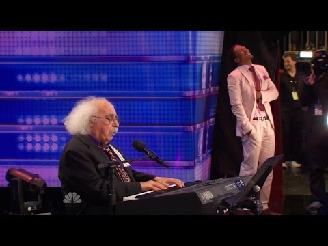 Thumbnail: America's Got Talent S09E06 Ray Jessel 84 Year Old performs Must See Hilarious Original Song