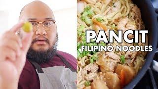 COOKING PANCIT CANTON | FILIPINO NOODLES | RALPH XAVIER