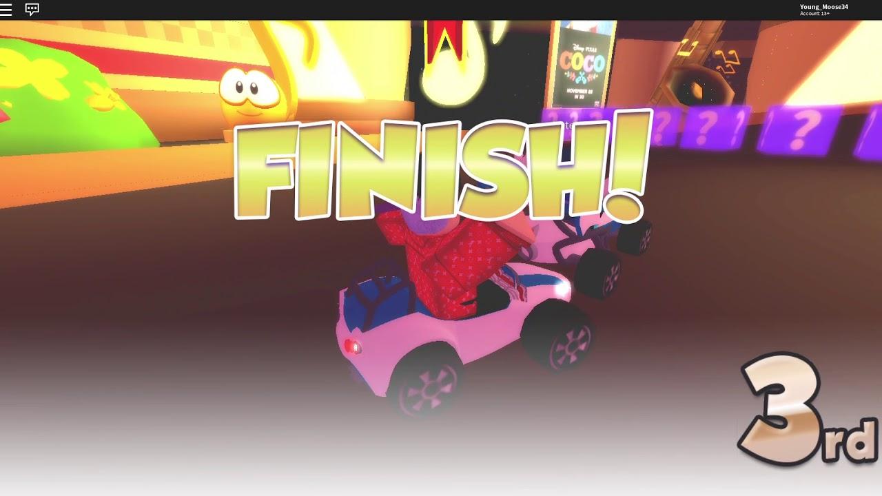 Mario Kart At Roblox Mario Kart 8 In Roblox Youtube