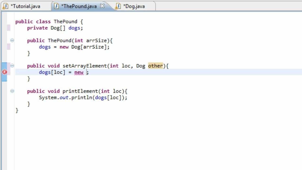 Java tutorial 2 arrays containing objects as properties youtube java tutorial 2 arrays containing objects as properties baditri Gallery