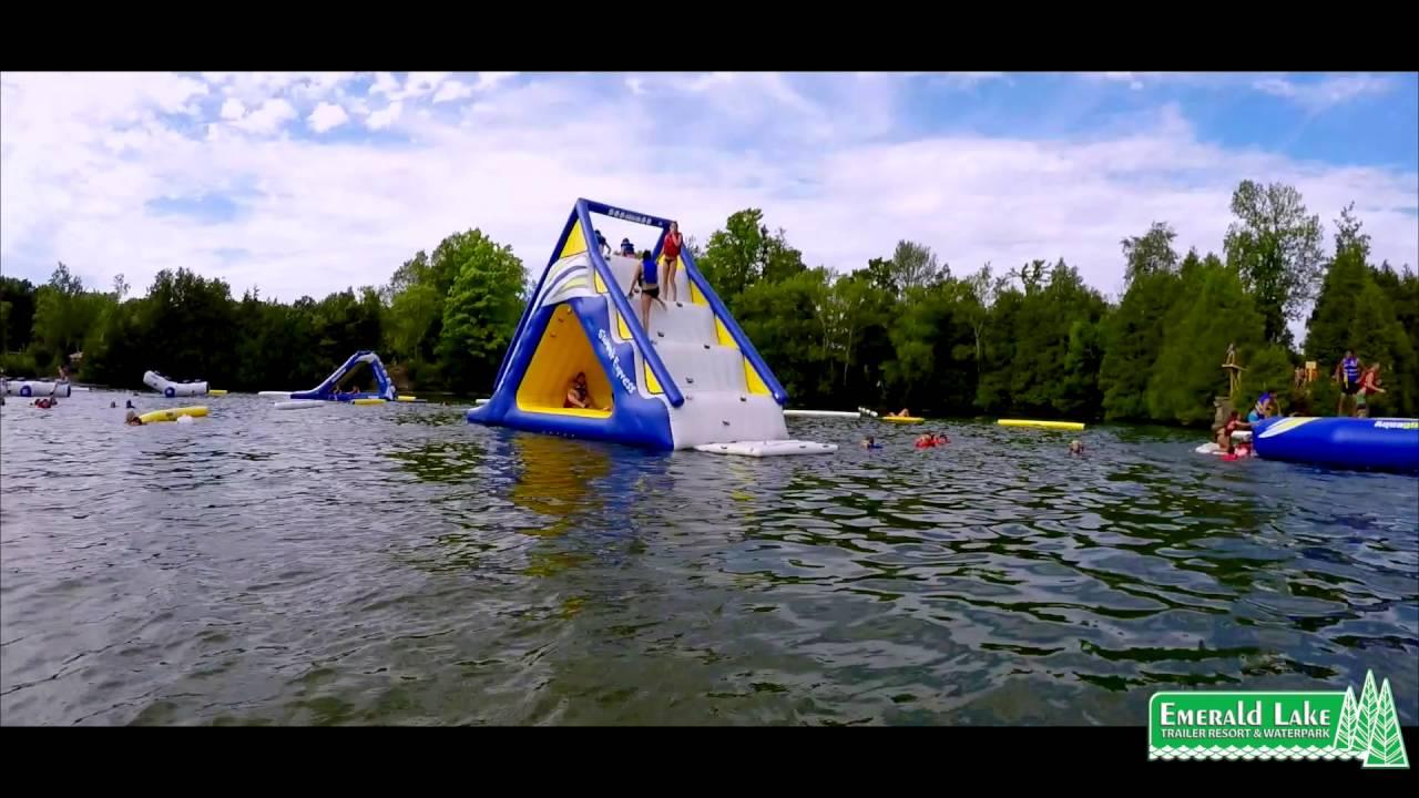 Emerald Lake, Ontario, Canada - Waterpark