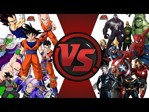 Team Dragon Ball Super vs Team Marvel! Cartoon Fight Night E