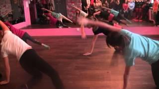 Открытый урок. Детская группа. Contemporary dance. Танцевальный класс. Партер.